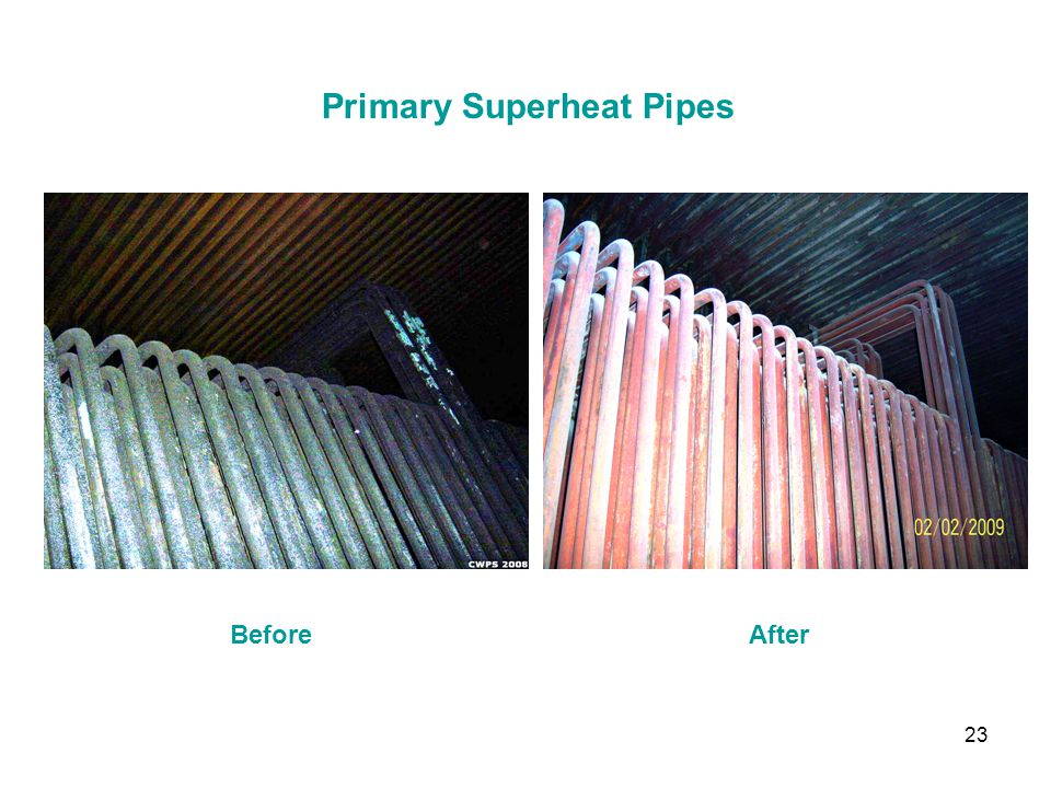 Primary Superheat Pipes