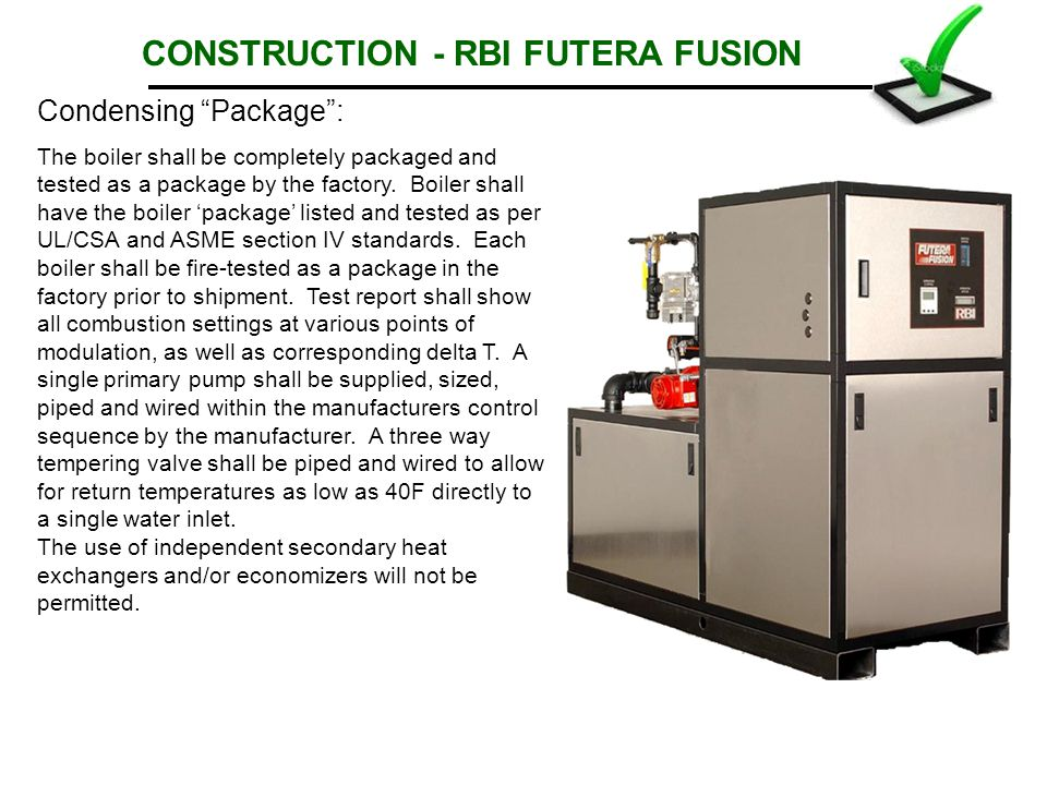 CONSTRUCTION - RBI FUTERA FUSION