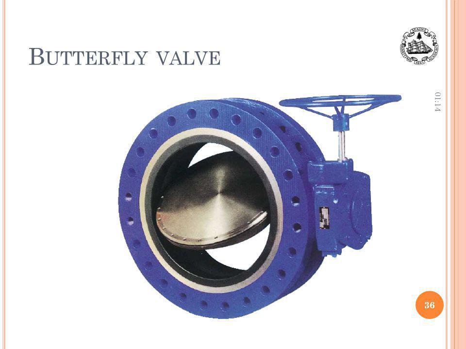 Butterfly valve 12:36