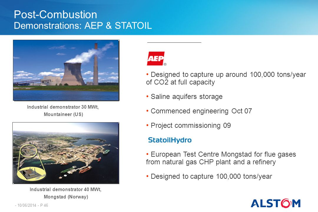 Industrial demonstrator 30 MWt, Industrial demonstrator 40 MWt,
