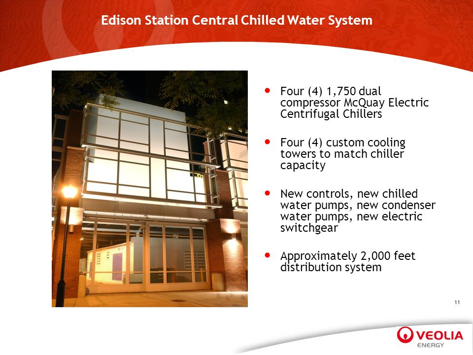 Edison Station Central Chilled Water System