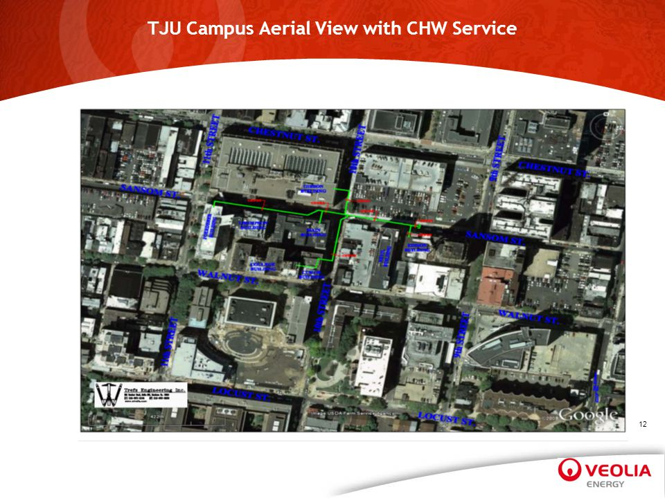 TJU Campus Aerial View with CHW Service