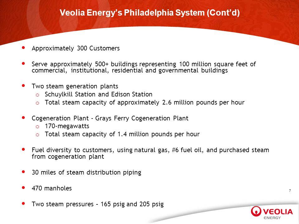 Veolia Energy's Philadelphia System (Cont'd)