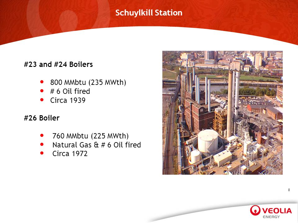 Schuylkill Station #23 and #24 Boilers 800 MMbtu (235 MWth)