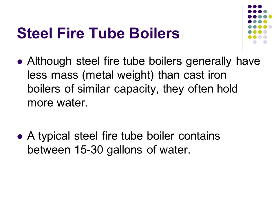Steel Fire Tube Boilers