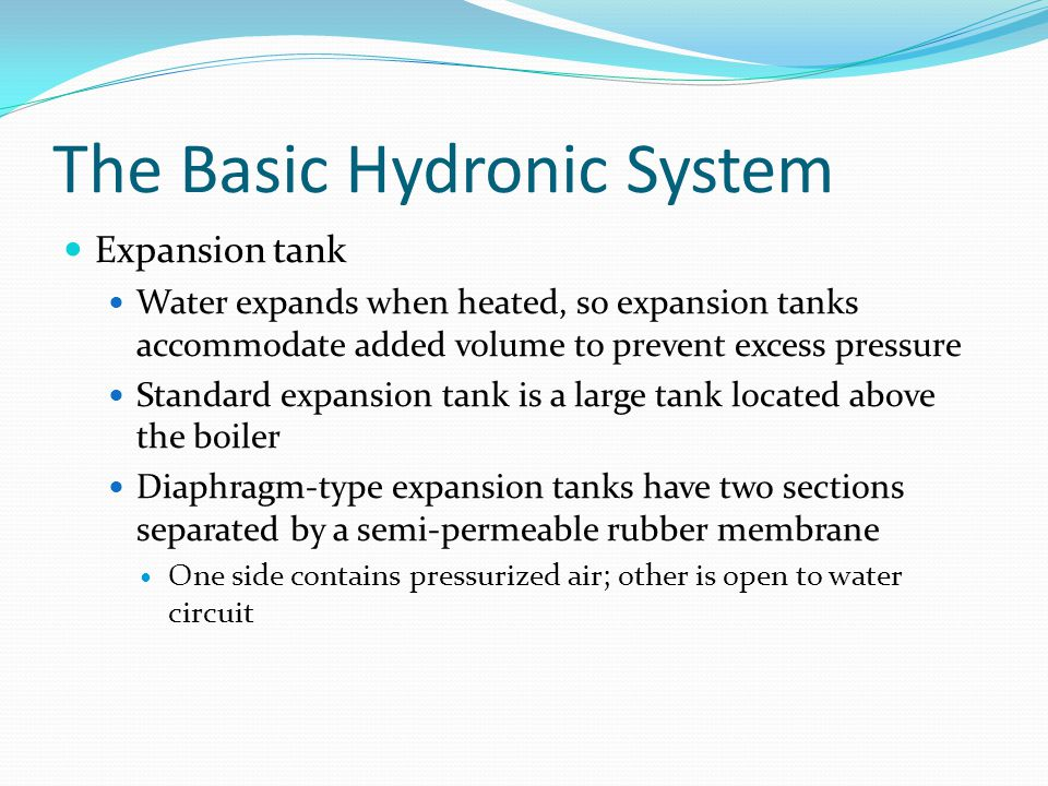 The Basic Hydronic System