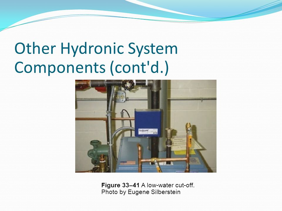 Other Hydronic System Components (cont d.)‏