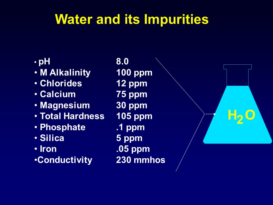 Water and its Impurities