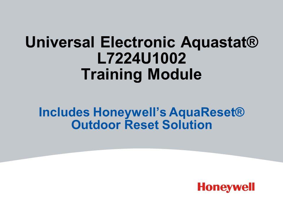 Universal Electronic Aquastat® L7224U1002 Training Module