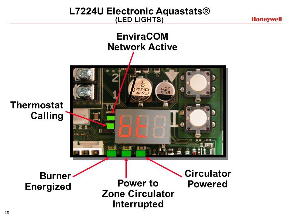 L7224U Electronic Aquastats® (LED LIGHTS)