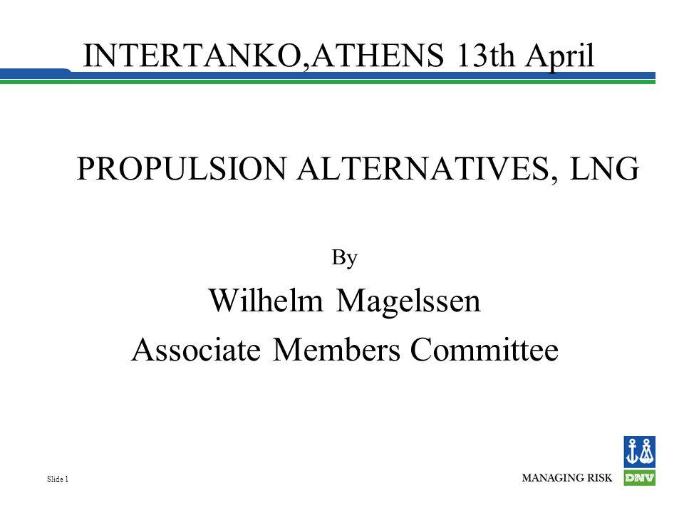 INTERTANKO,ATHENS 13th April