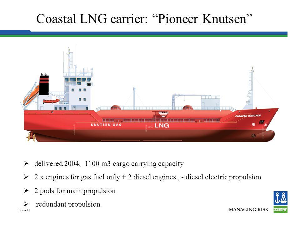 Coastal LNG carrier: Pioneer Knutsen