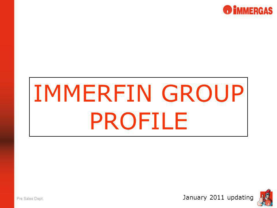 IMMERFIN GROUP PROFILE