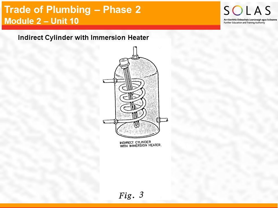 Indirect Cylinder with Immersion Heater
