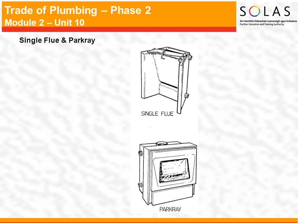 Single Flue & Parkray
