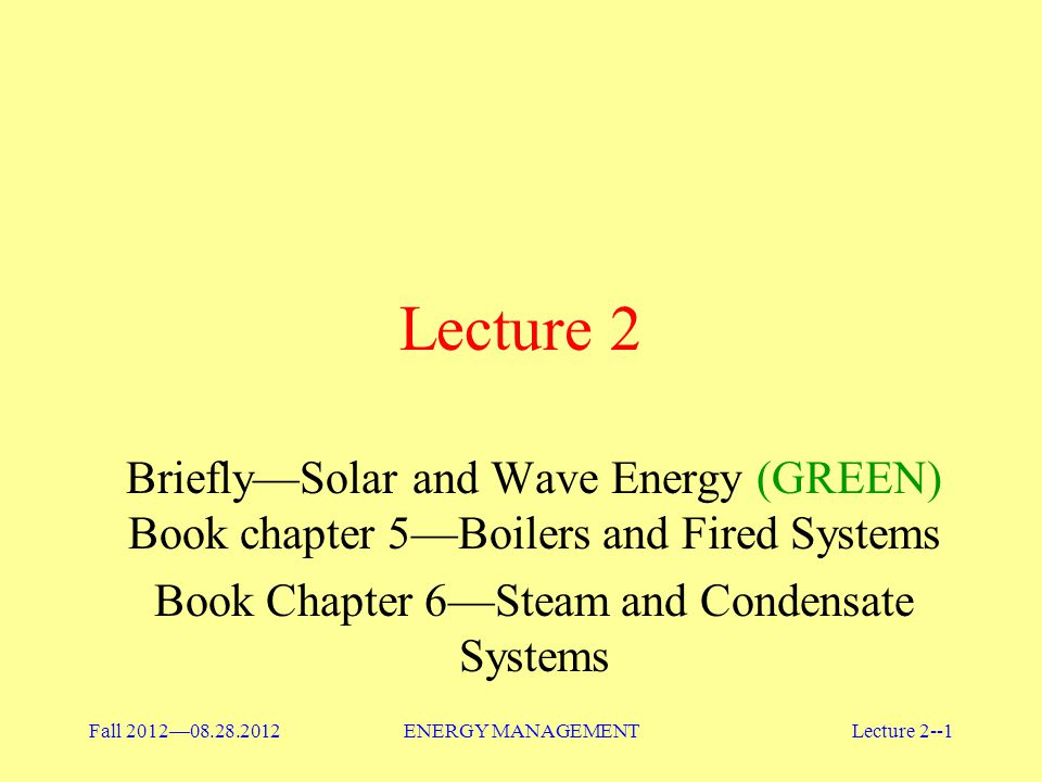Book Chapter 6—Steam and Condensate Systems