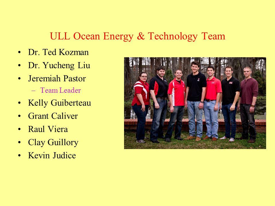ULL Ocean Energy & Technology Team