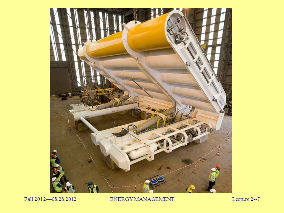 Fall 2012—08.28.2012 ENERGY MANAGEMENT