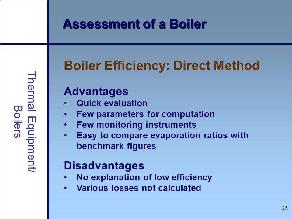 Boiler Efficiency: Direct Method