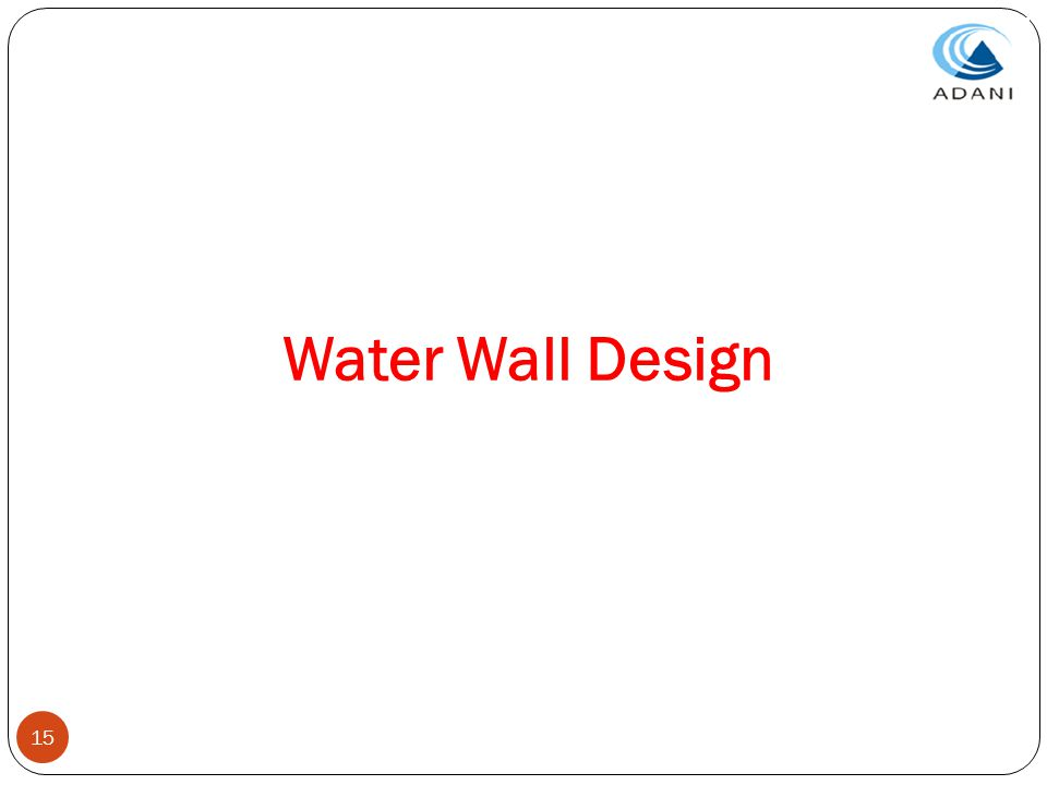 Water Wall Design