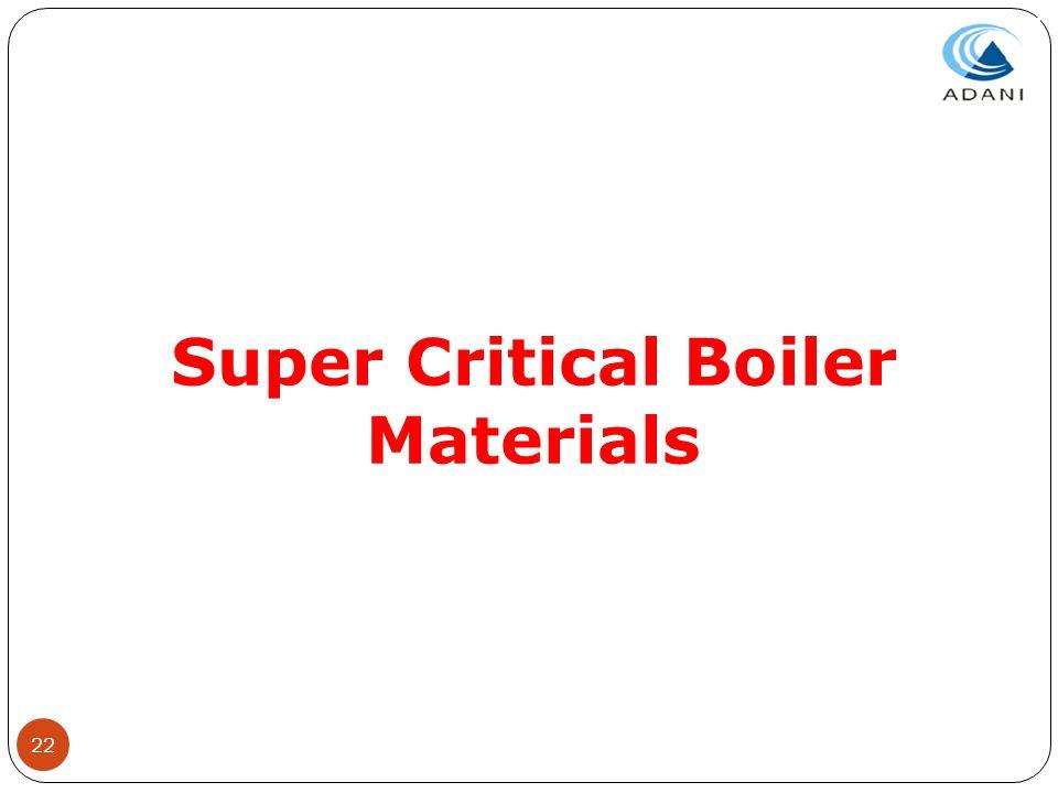 Super Critical Boiler Materials
