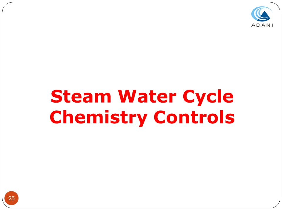 Steam Water Cycle Chemistry Controls