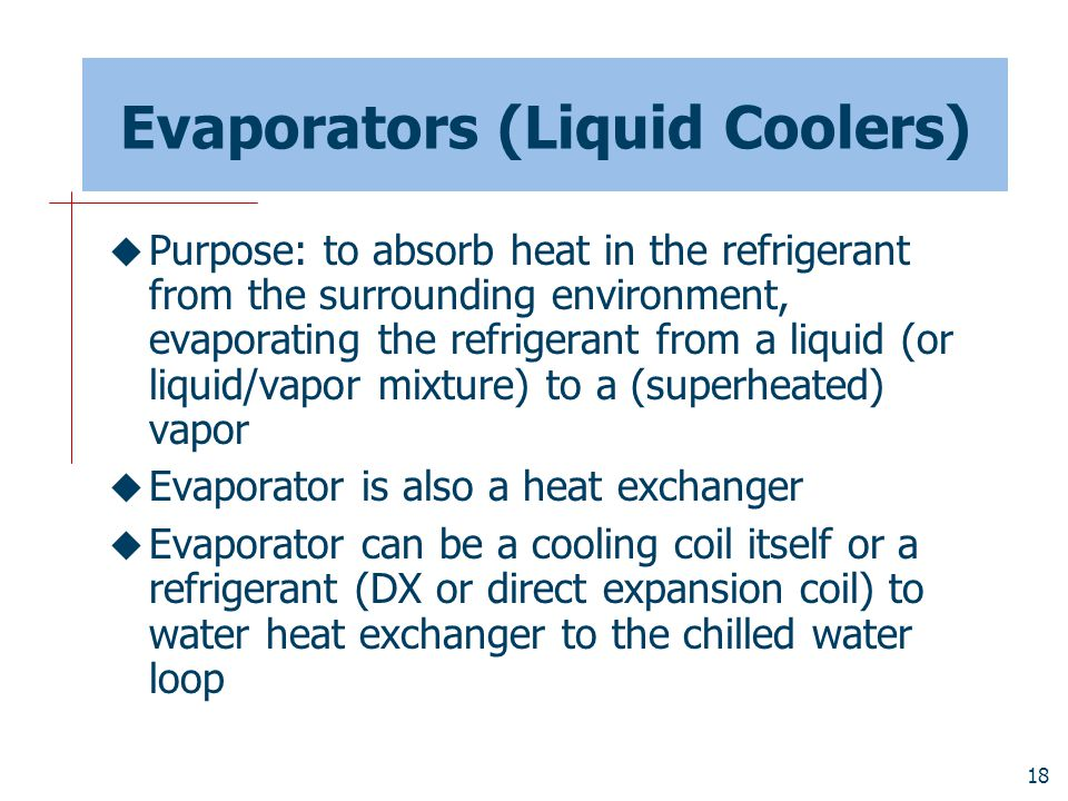 Evaporators (Liquid Coolers)