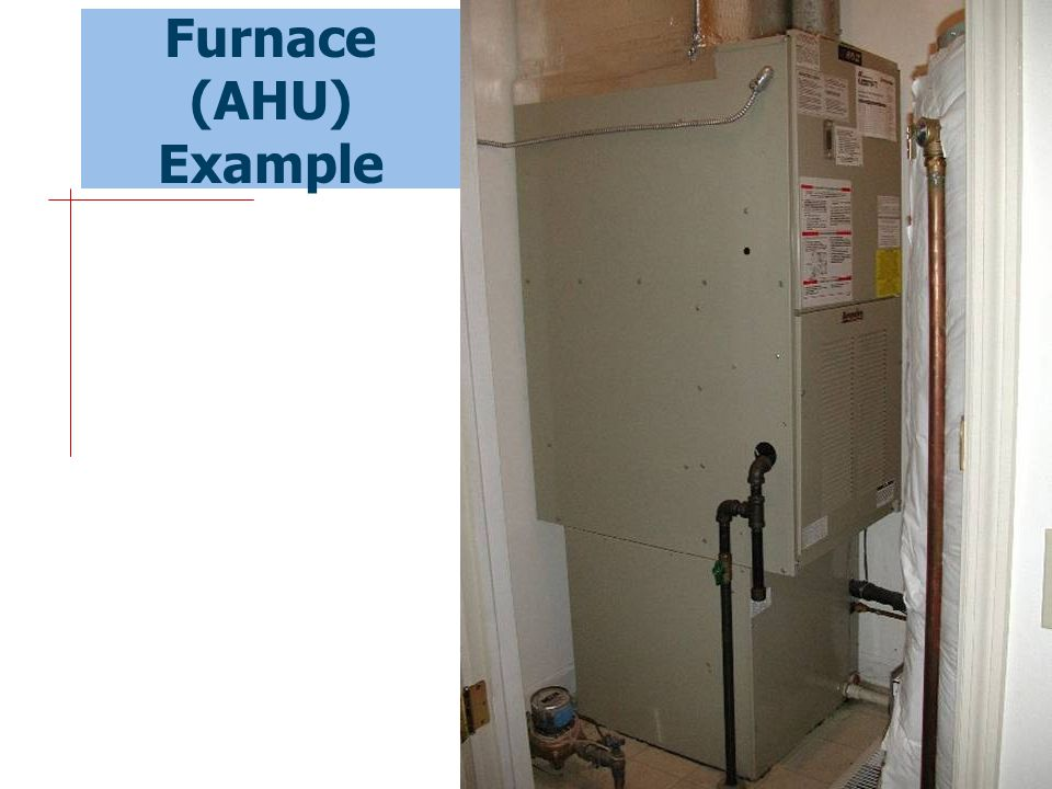 Furnace (AHU) Example