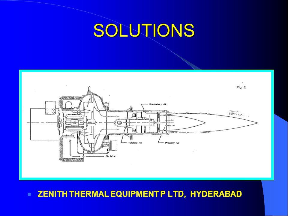 SOLUTIONS ZENITH THERMAL EQUIPMENT P LTD, HYDERABAD