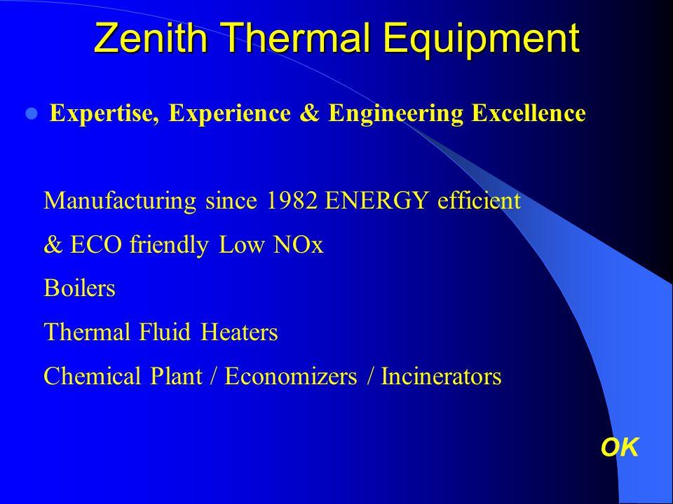 Zenith Thermal Equipment
