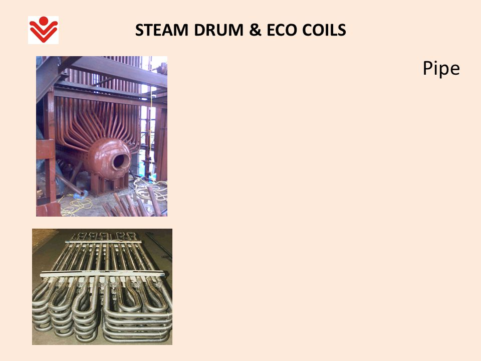 STEAM DRUM & ECO COILS Pipe