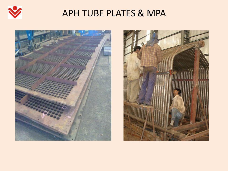 APH TUBE PLATES & MPA