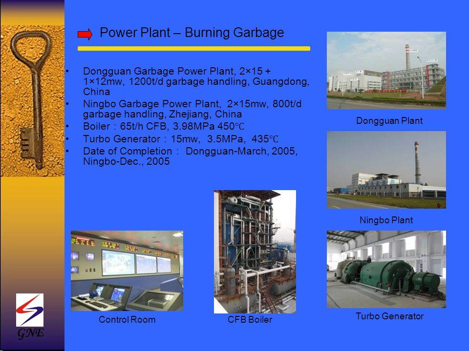 Power Plant – Burning Garbage