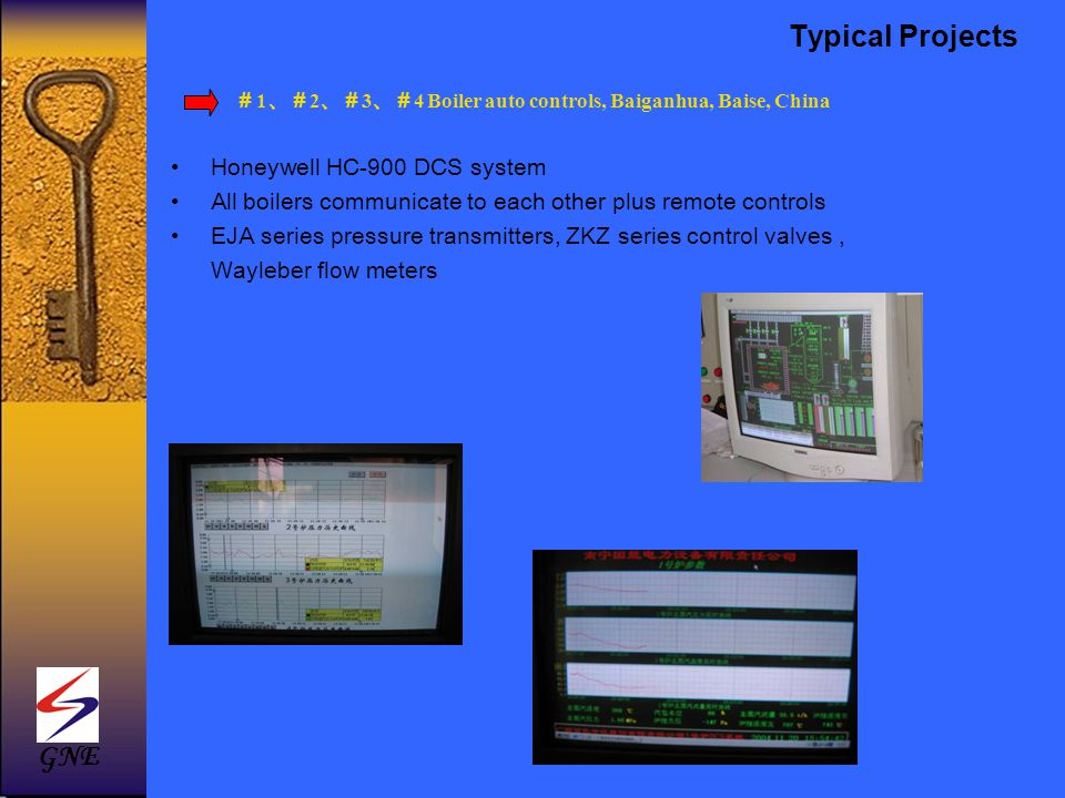 Typical Projects GNE Honeywell HC-900 DCS system