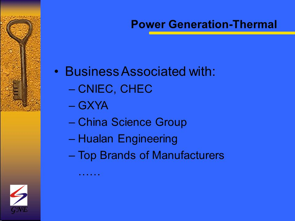 Power Generation-Thermal
