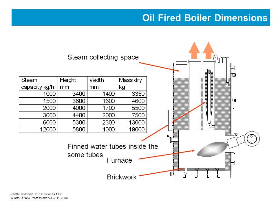 Oil Fired Boiler Dimensions