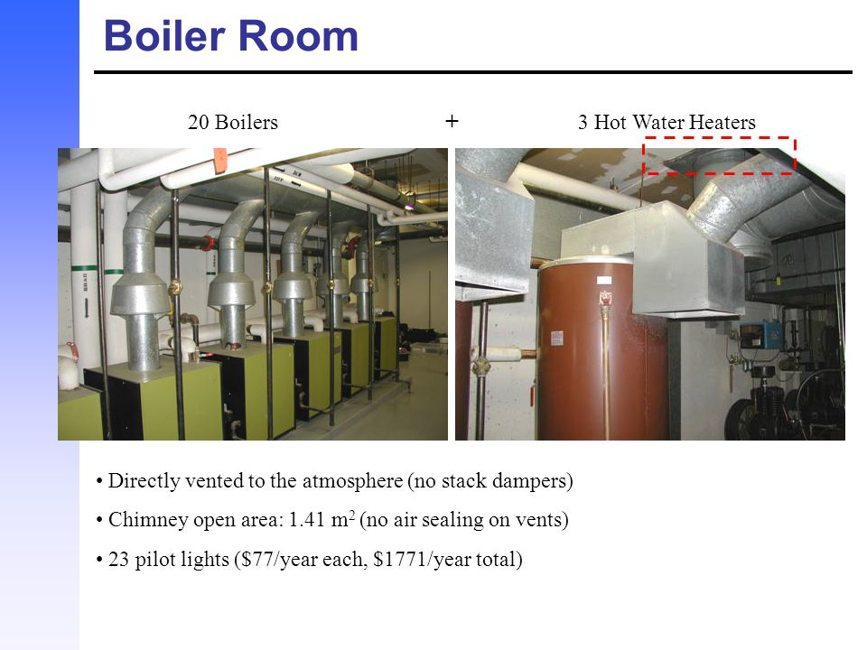 20 Boilers + 3 Hot Water Heaters