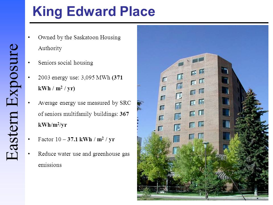 Eastern Exposure King Edward Place