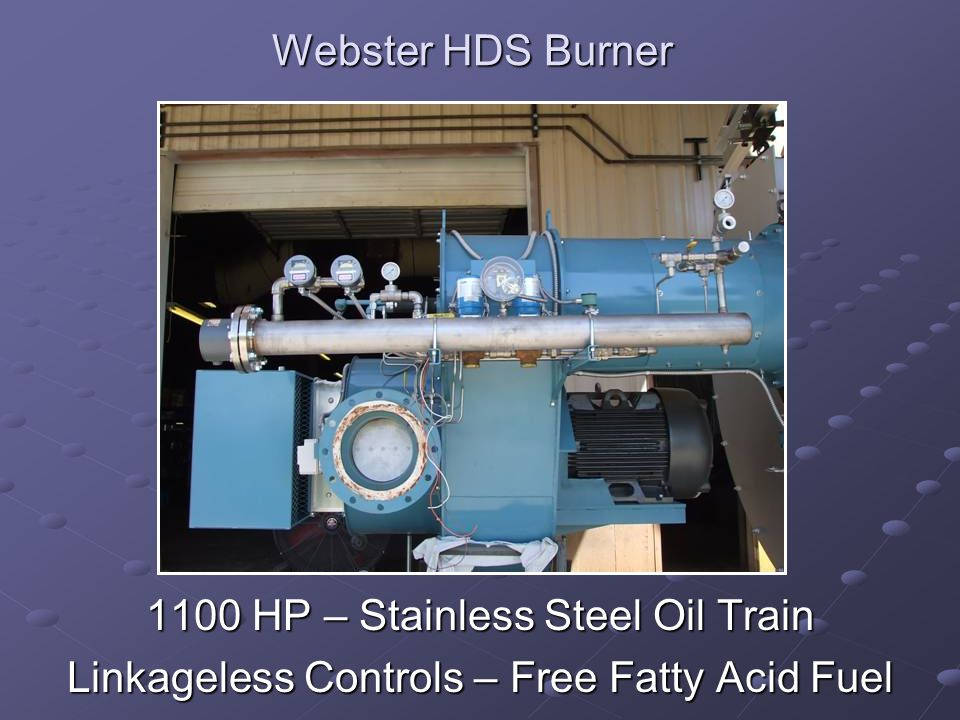 1100 HP – Stainless Steel Oil Train