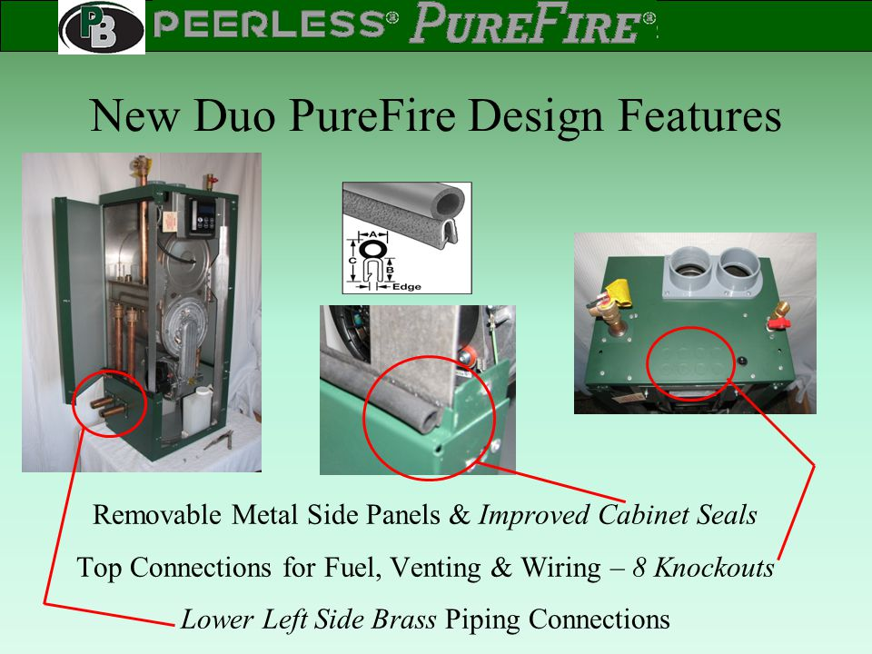 New Duo PureFire Design Features