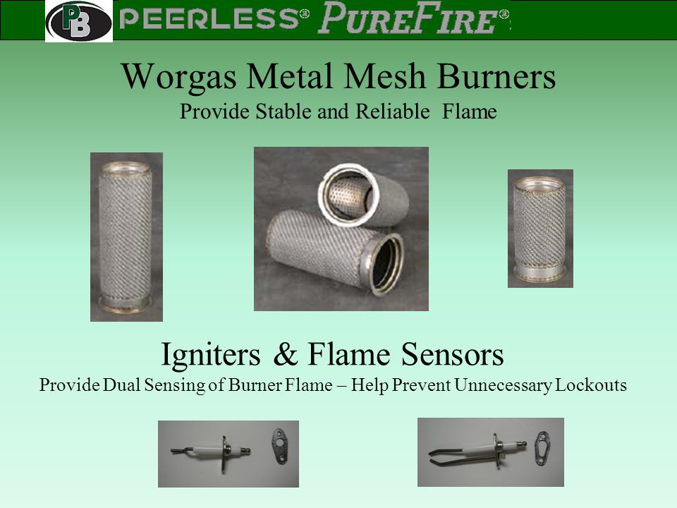 Worgas Metal Mesh Burners Provide Stable and Reliable Flame