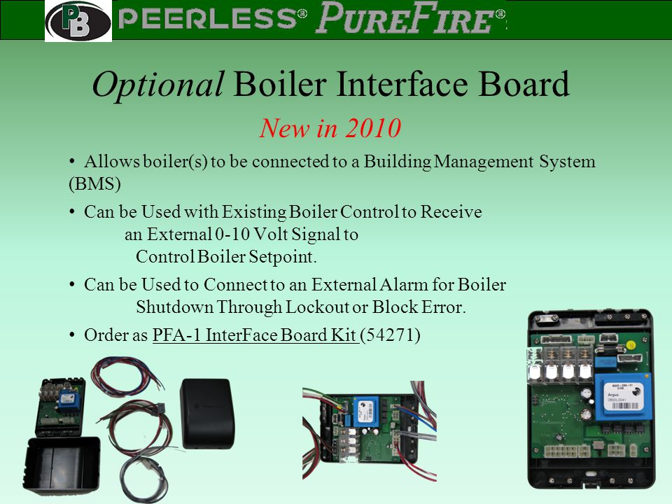 Optional Boiler Interface Board