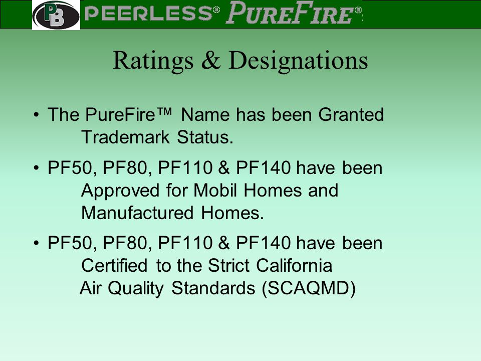 Ratings & Designations