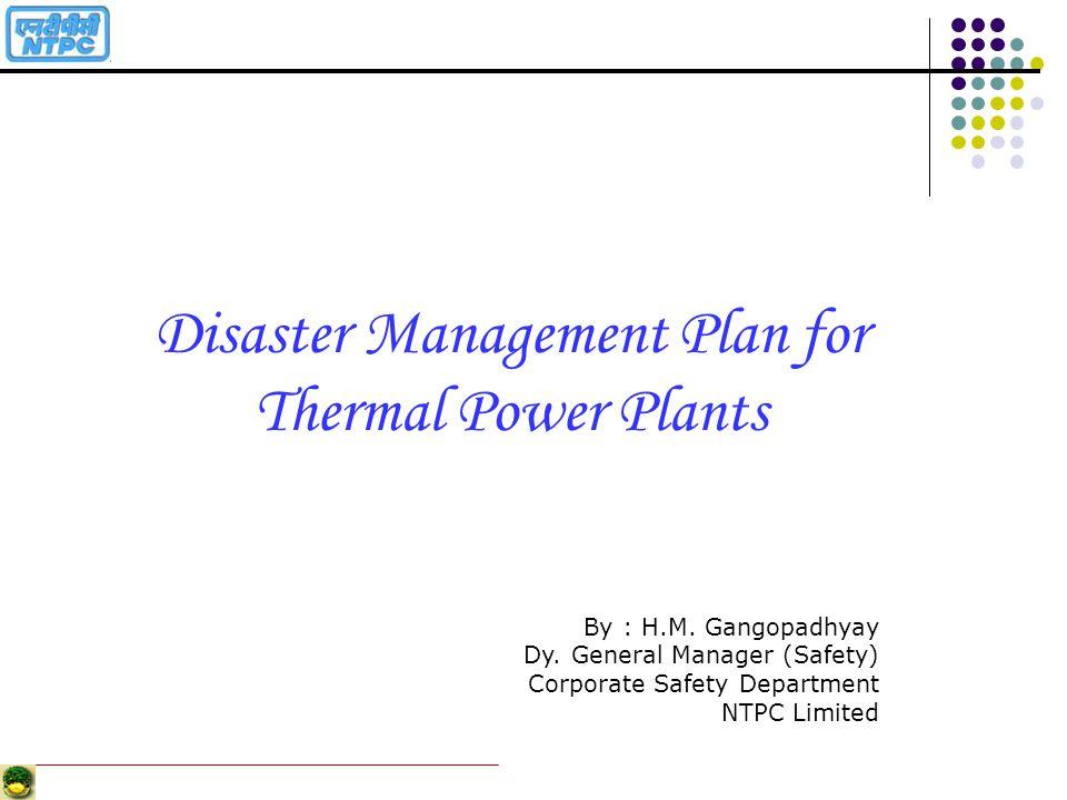 Disaster Management Plan for