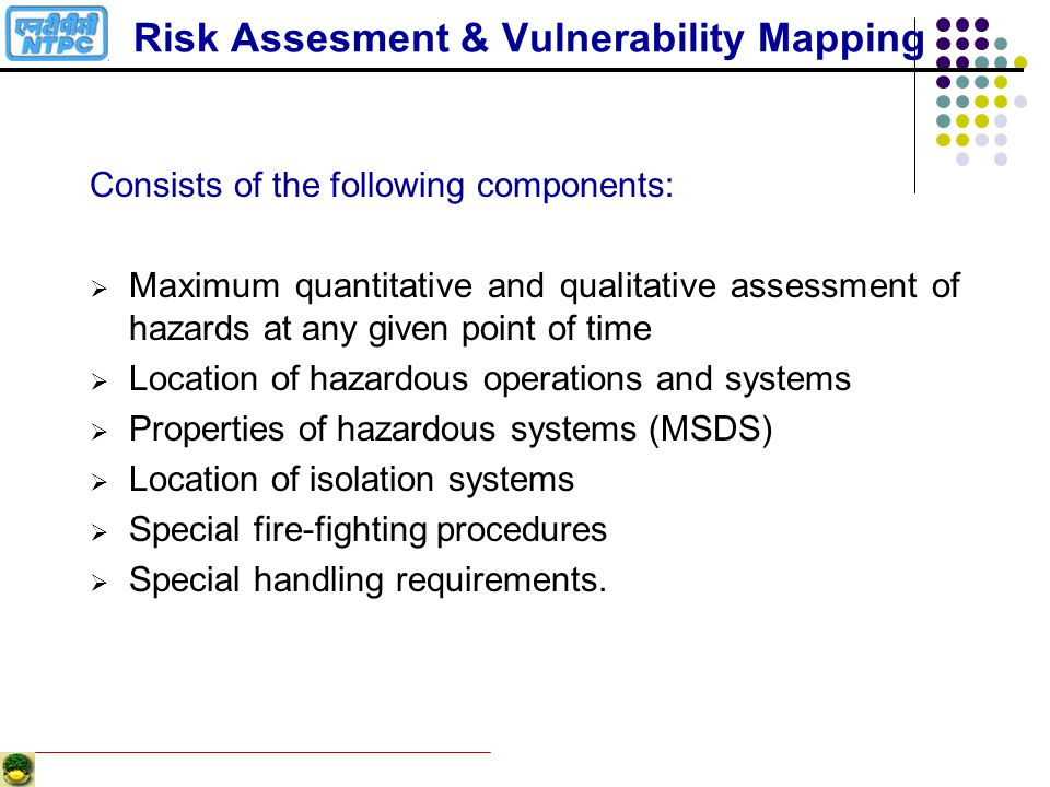 Risk Assesment & Vulnerability Mapping