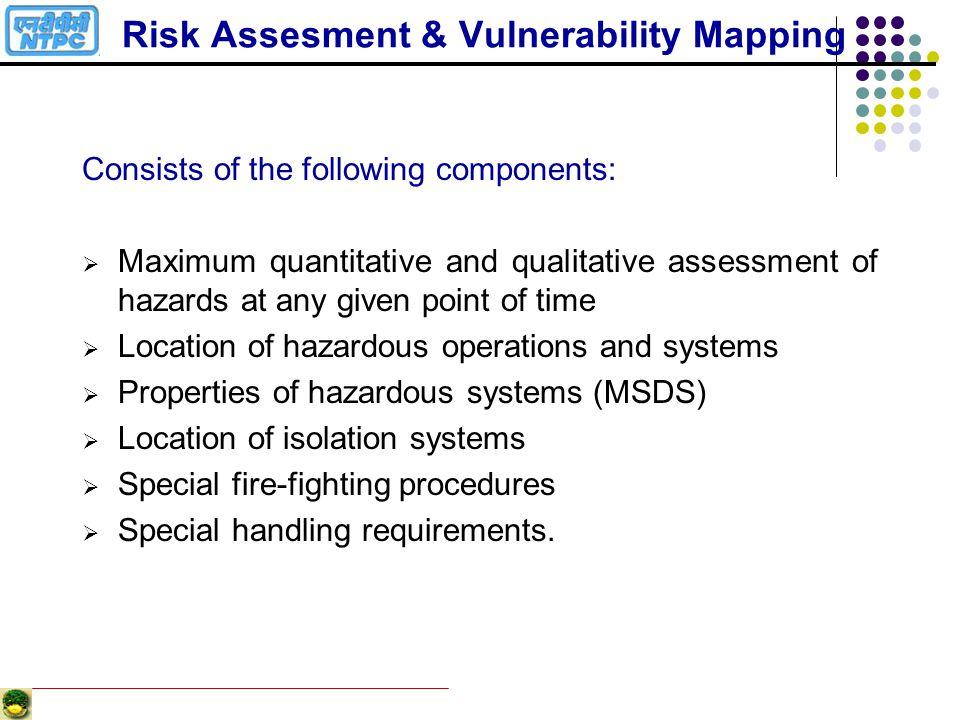 Risk Assesment & Vulnerability Mapping