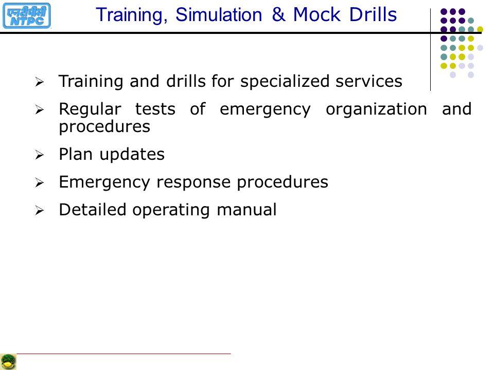 Training, Simulation & Mock Drills
