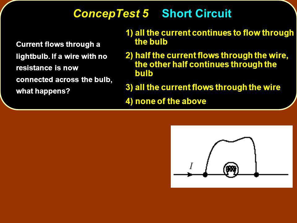 ConcepTest 5 Short Circuit