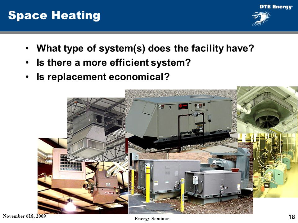 Semcog energy efficiency seminar considerations when for What is the most economical heating system