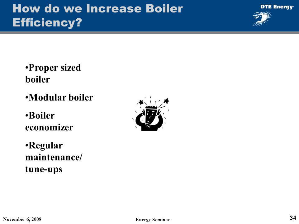 How do we Increase Boiler Efficiency